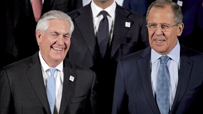 Image result for lavrov tillerson