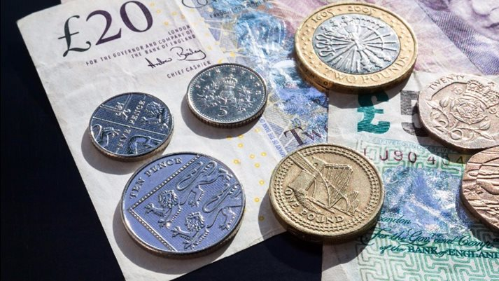 Sterling recovers slightly on unemployment data