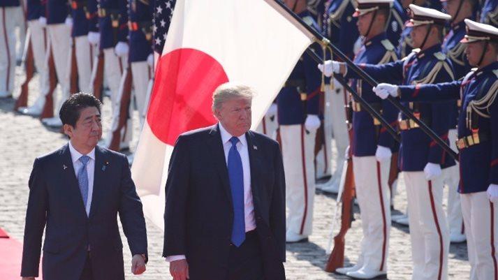 Trump: US, Japan have 'powerful, enduring bond'